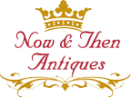 Now and Then Antiques Online Shop Logo